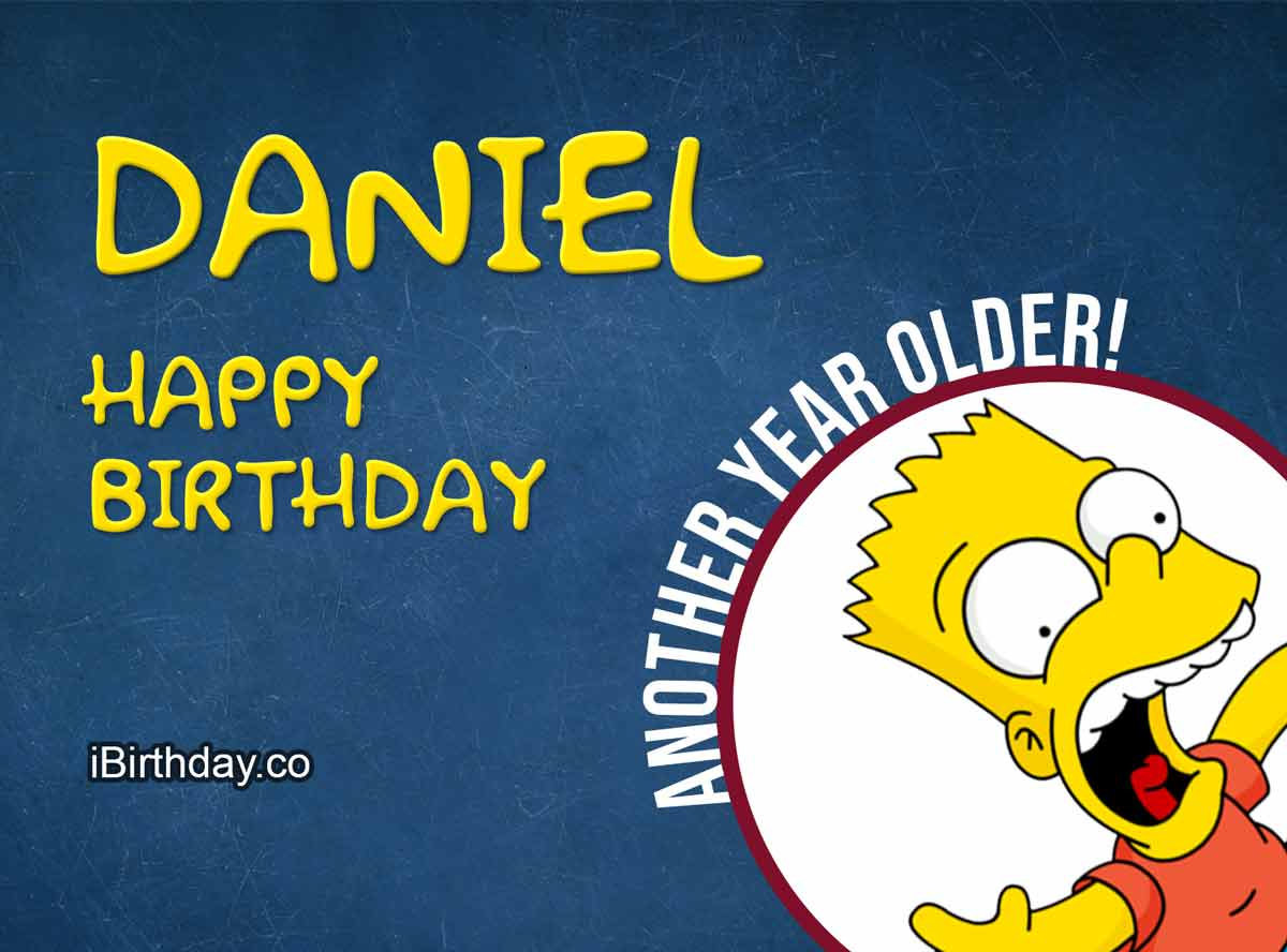Happy Birthday Daniel Memes Wishes And Quotes