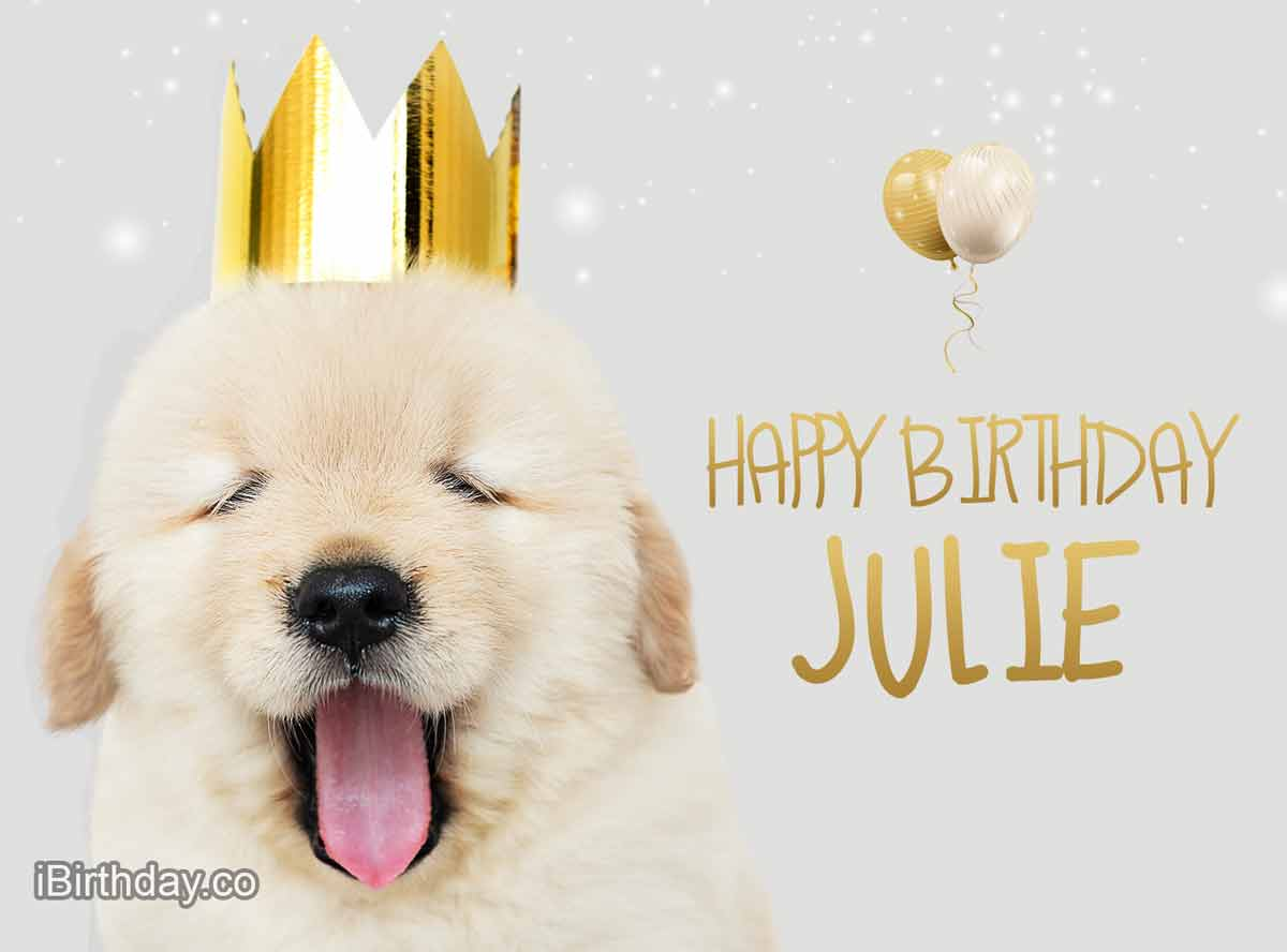 Happy Birthday Julie Memes Wishes And Quotes