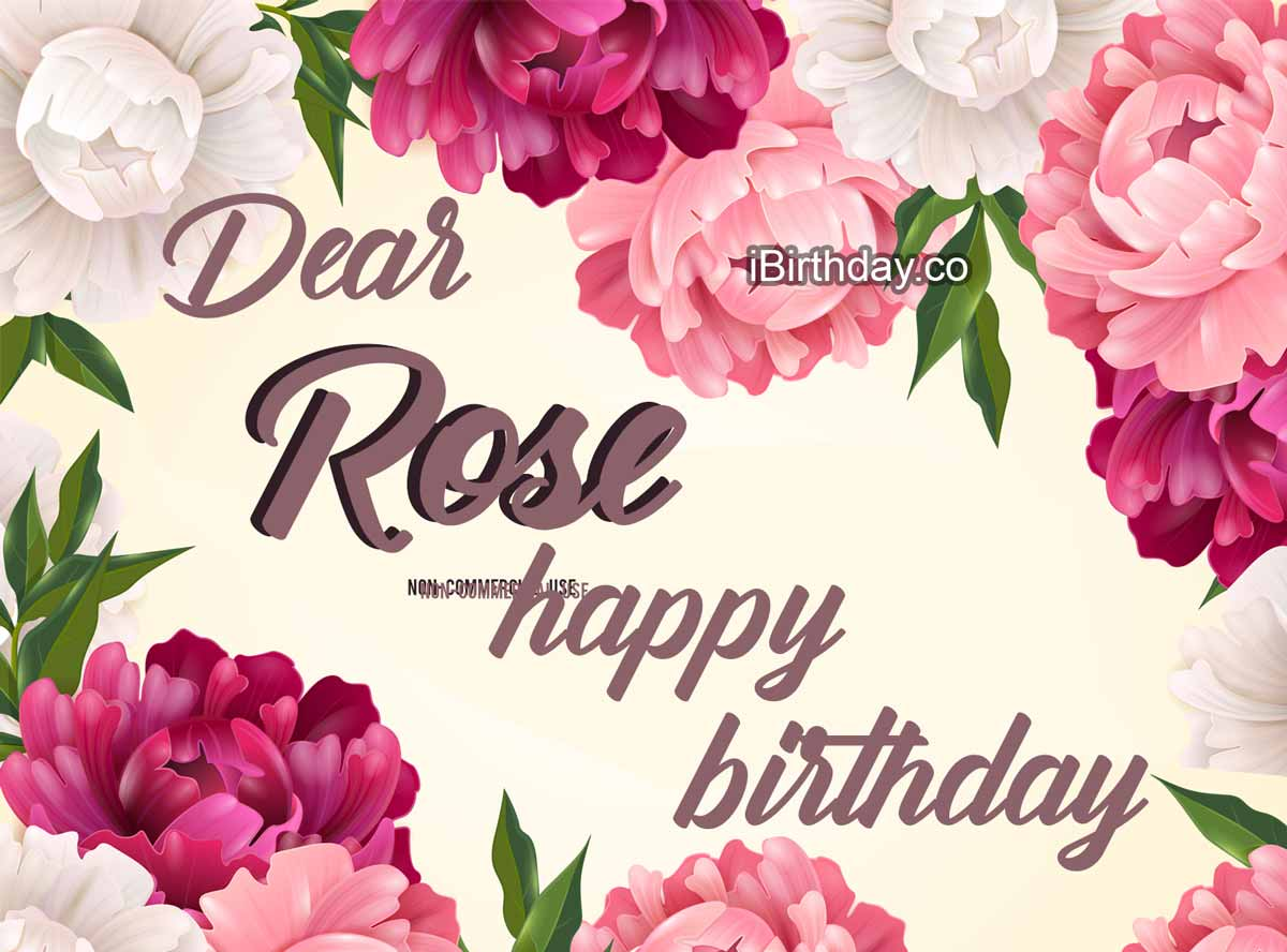 Happy Birthday Rose Memes Wishes And Quotes
