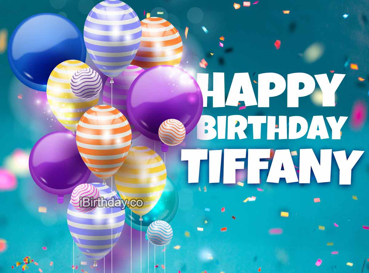 Tiffany Balloons Birthday Meme Happy Birthday
