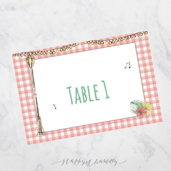 Nom de table a commander ici pour toutes les collections - Numero de table pour restaurant ...