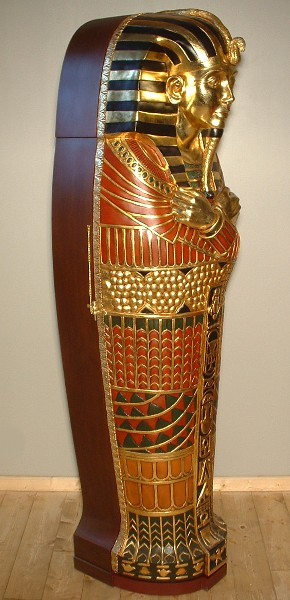 SARCOPHAGE Statues GYPTE ANTIQUIT