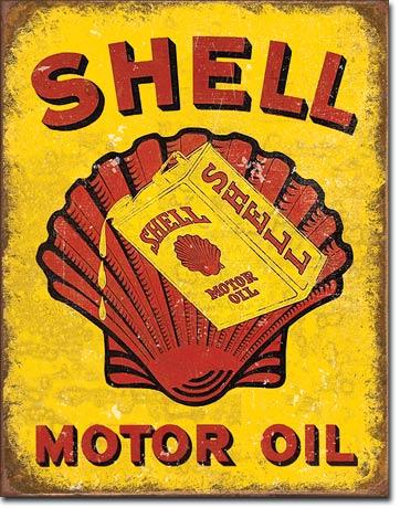 Shell Plaques Usa Fifties