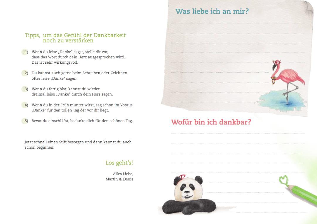 Paula Panda - Dankbarkeits-Tagebuch - 4
