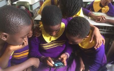 Projekt Whatsapp – connecting Kinder aus Deutschland mit Kindern aus Kamerun
