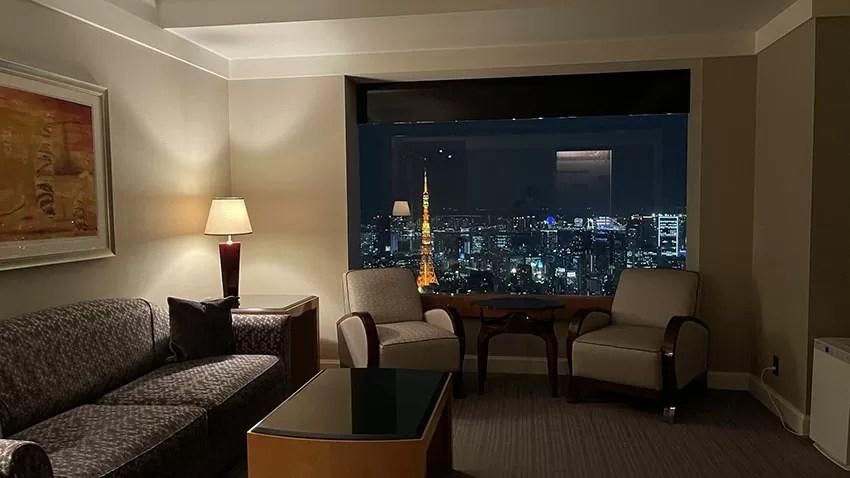 タワースイート宿泊記。リッツ・カールトン東京|約20万円の東京タワービューのスイートに宿泊