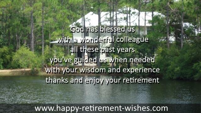 Religious Retirement Wishes And Christian Retiring Prayers