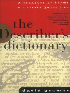 describers dictionary