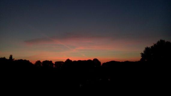 happy acorn mooie lucht ochtendglorie