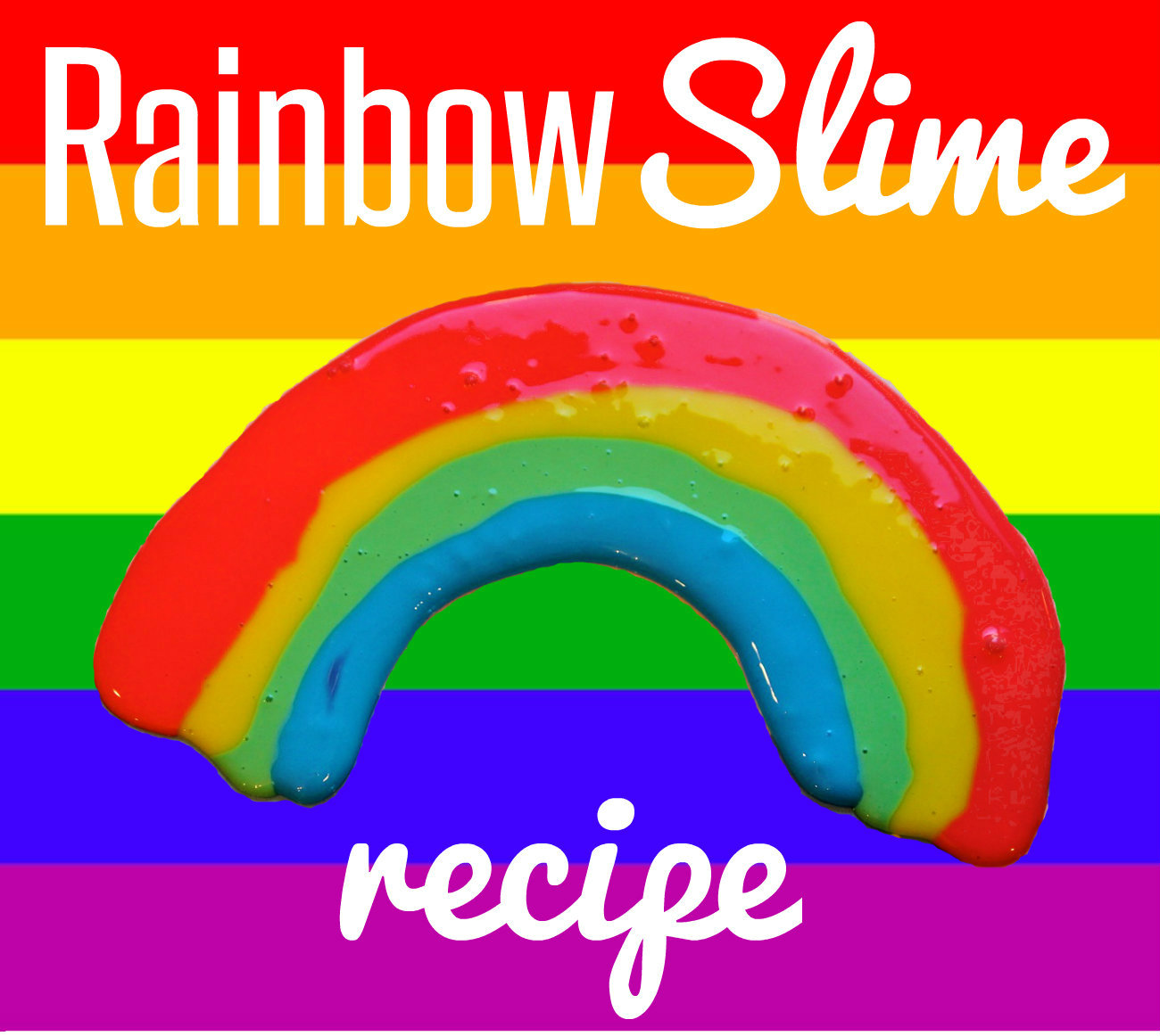 Free Rainbow Printables And Easy Rainbow Slime Recipe