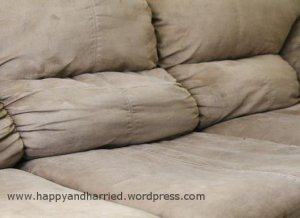 Clean microfiber couch 2