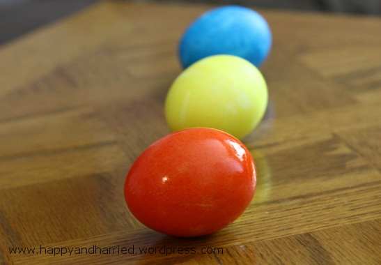 Dyed Easter Eggs 4