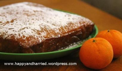 Orange Sponge Cake 3