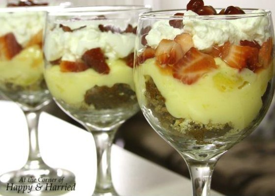 Easy Trifle in a Wineglass 2