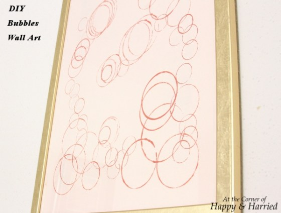 DIY Bubbles Wall Art 3