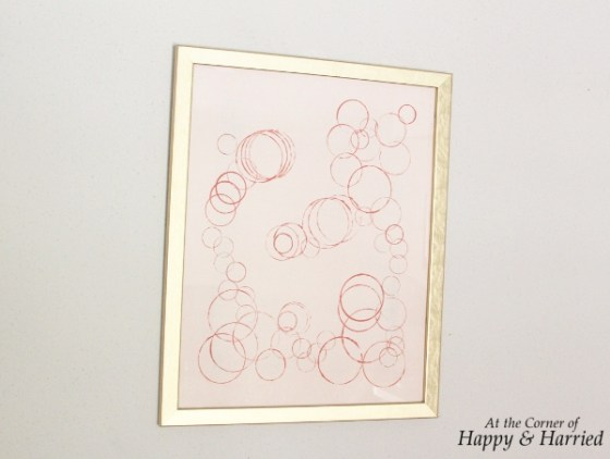DIY Bubbles Wall Art 4