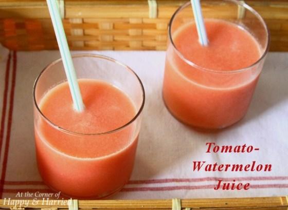 Tomato Watermelon Juice