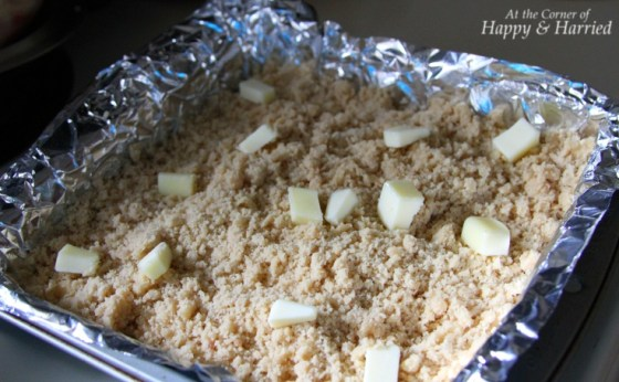 Apple Crumble-Ready to be Baked