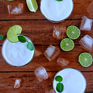 Brazilian Lemonade With Coconut Milk