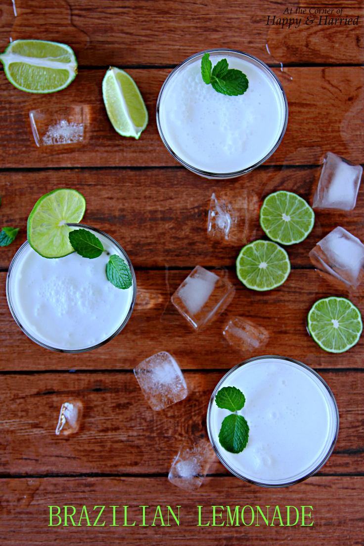 Brazilian Lemonade (With Coconut Milk)