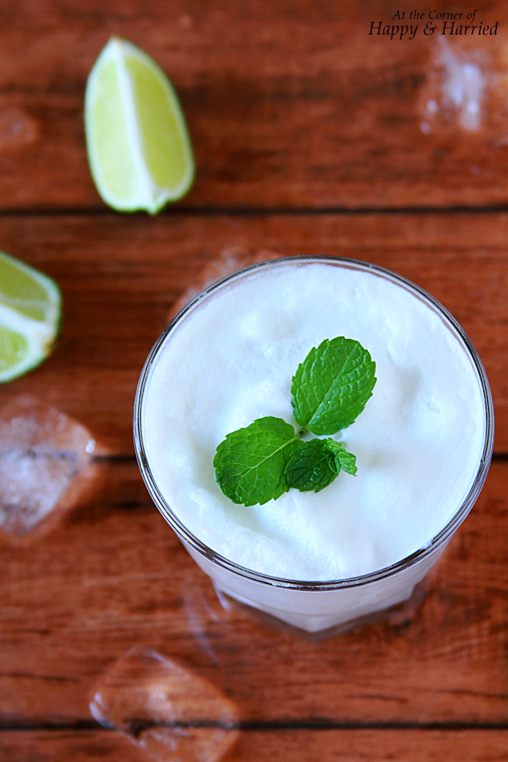 Brazilian Lemonade (With Limes & Coconut Milk)
