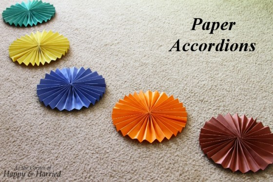 Paper Accordions