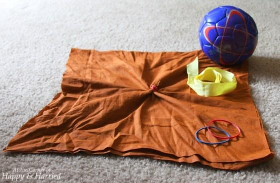 DIY Ball Pumpkin