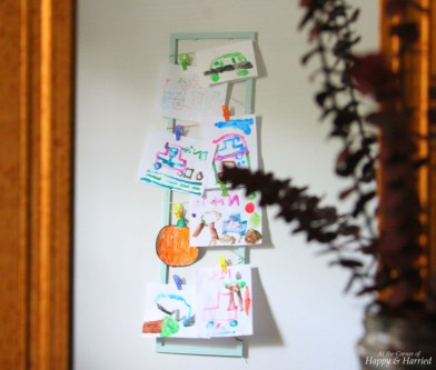 Photography Styling Challenge 5-Bedroom Kids Art Display