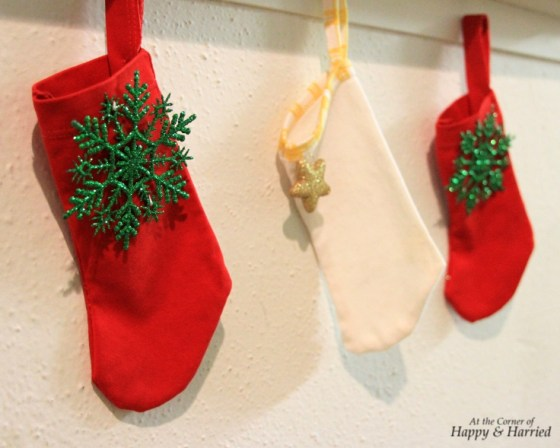 Handmade Baby Clothes Christmas Stockings