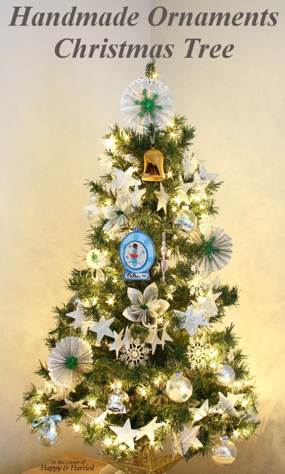 Lovely Handmade Ornaments Christmas Tree