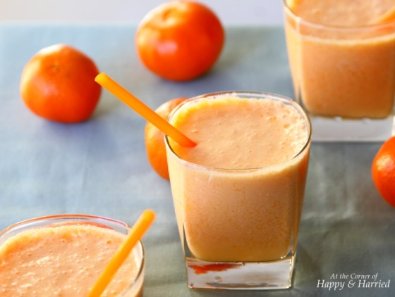 Creamy Orange Smoothie - Orange Julius