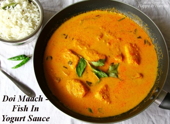 Fish In Creamy Yogurt Based Curry