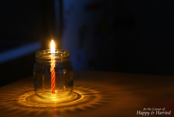 Photography Styling Challenge #10 - Light - Candle In Glass Jar