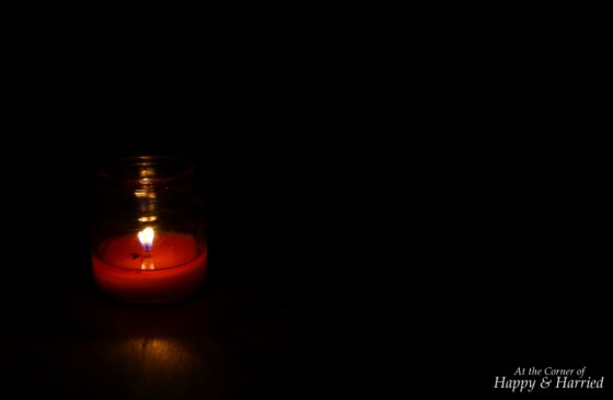 Photography Styling Challenge #10 - Light - Candle In The Dark