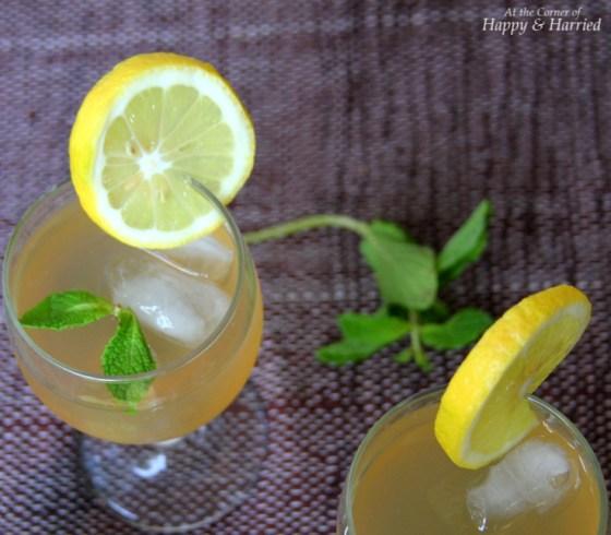 Lemon-Mint-Ginger Juice
