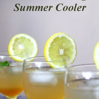 Lemon, Mint And Ginger Summer Cooler (Juice Concentrate)