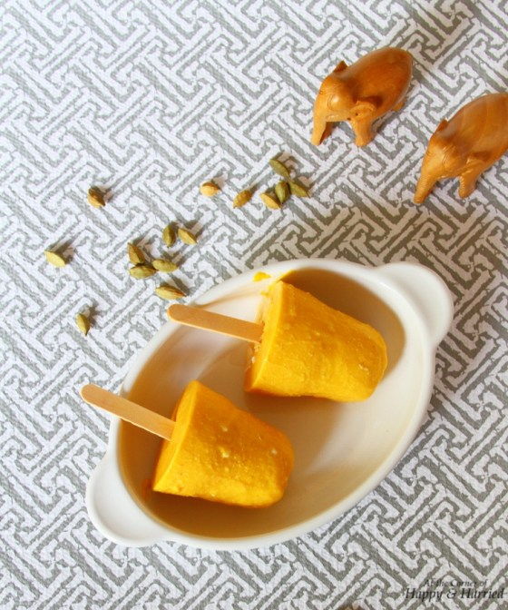 Rich And Creamy Mango & Cashew Nut Kulfi