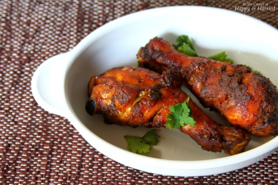 Soy Sauce & Spices Baked Chicken Drumsticks