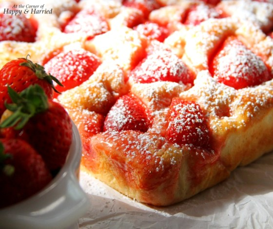 Strawberry Focaccia Bread