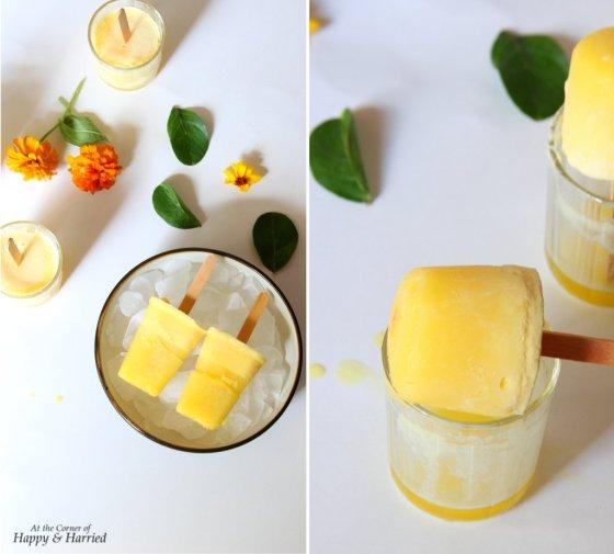 Creamy Homemade Orange Creamsicle Pops