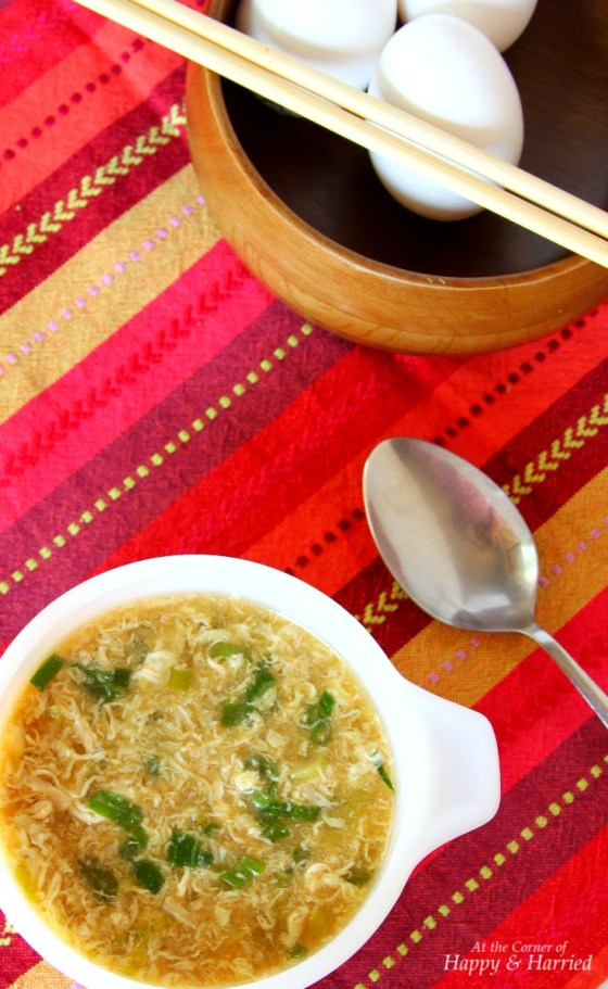 Egg Drop Soup With Homemade Broth