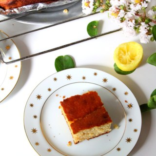 Honey Lemon Cake