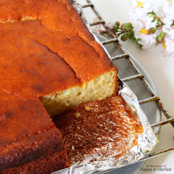 Honey Lemon Yogurt Cake