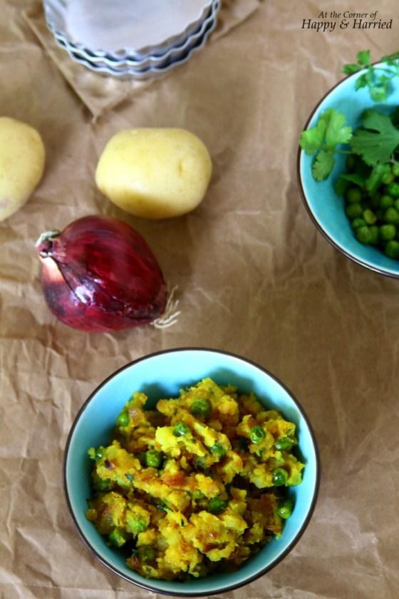 Potato-Peas Masala