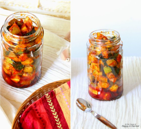 Quick Aam Achar (Indian Raw Mango Pickle)