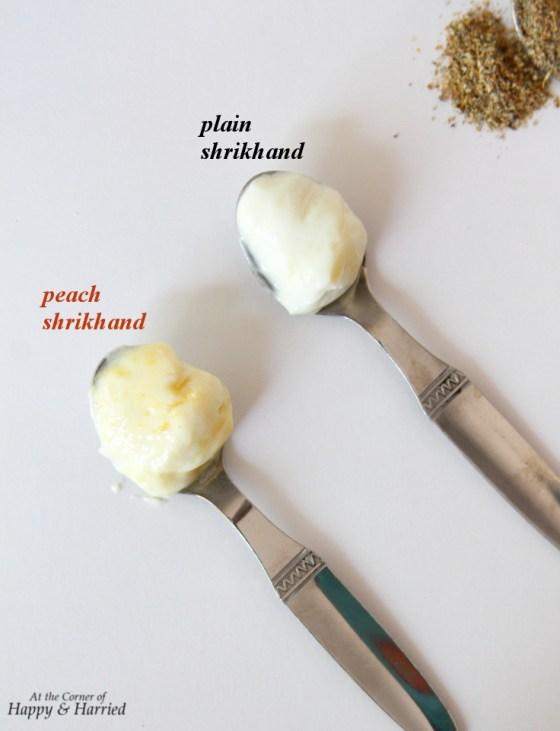 Sweetened Hung Yogurt - Cardamom & Peach Shrikhand