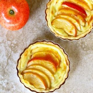 Crème Pâtissière Filled Mini Apple Tarts