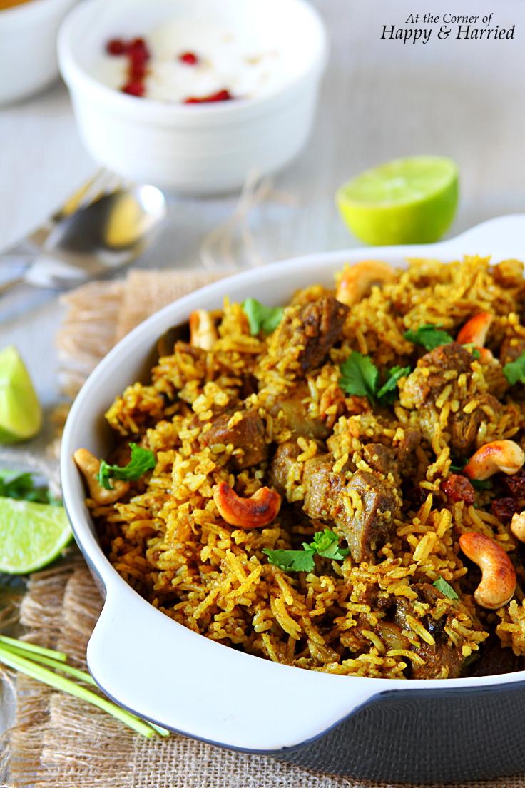 One-Pot Mutton Biryani {Tamil Nadu Style}