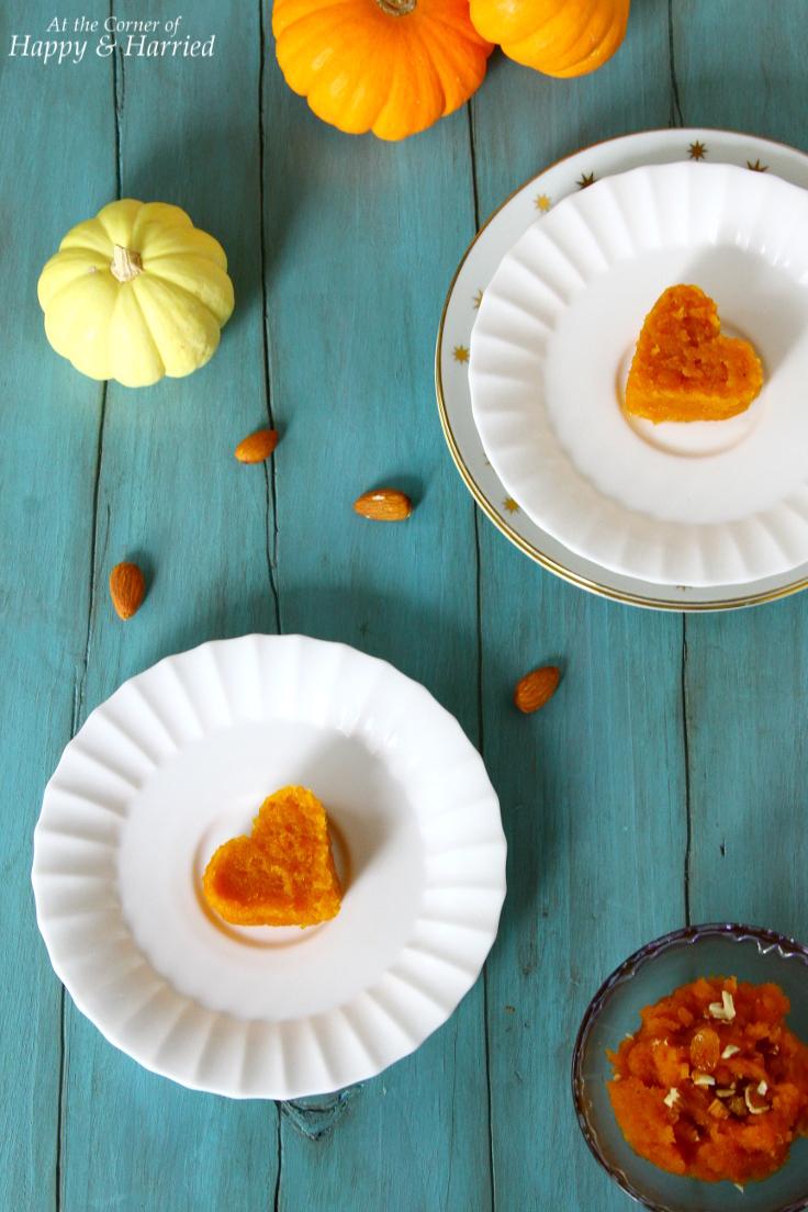 Pumpkin Halwa {Indian Pumpkin Pudding Dessert}