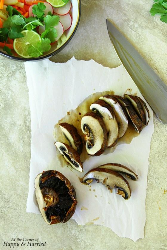 Vietnamese Grilled Portabella Mushrooms